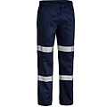 Cotton Drill Work Pants With Double 3M™ Reflective Tape